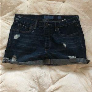 "Lucky Brand Jean Shorts ""The Boyfriend Shorts"""